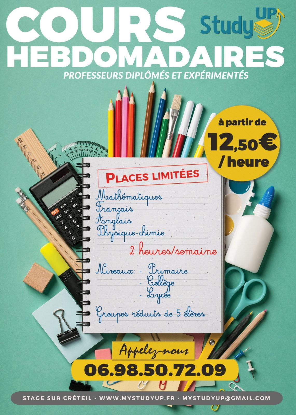 AFFICHES DE STUDY UP